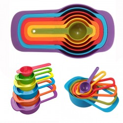 Nested Measuring Cups and Spoons Set